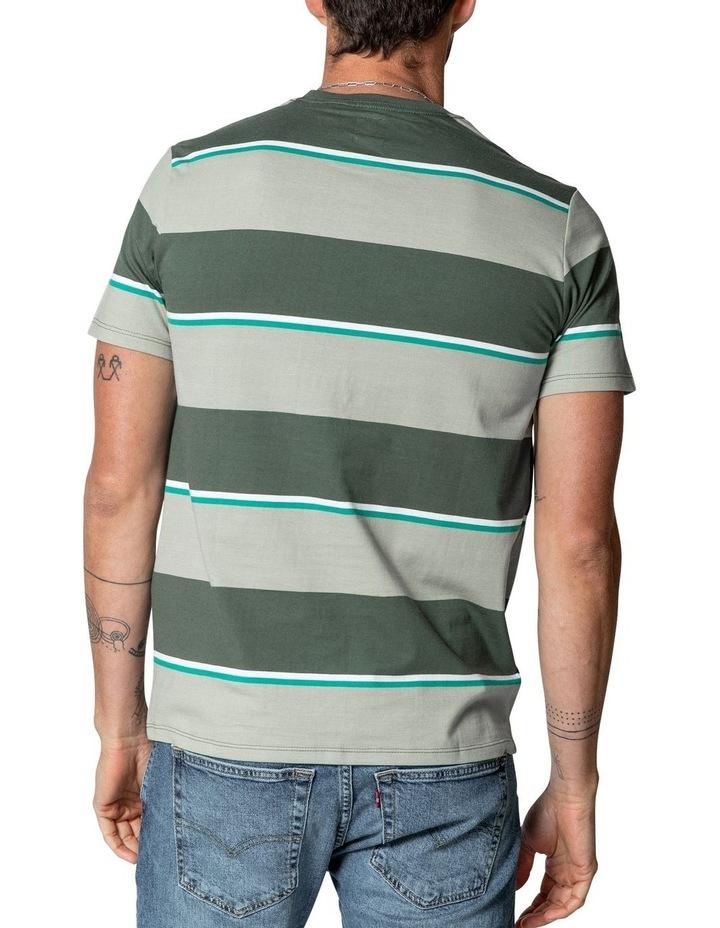 Original Housemark T-Shirt in Tea Stripes image 3
