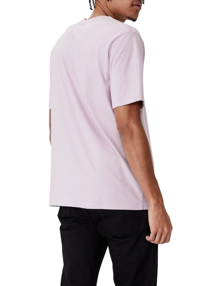Relaxed Fit Short Sleeve T-Shirt Lilac image 2