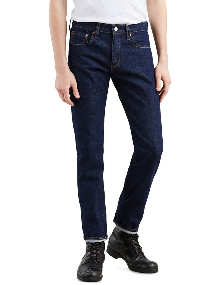 511™ Slim Fit Selvedge Jeans image 1