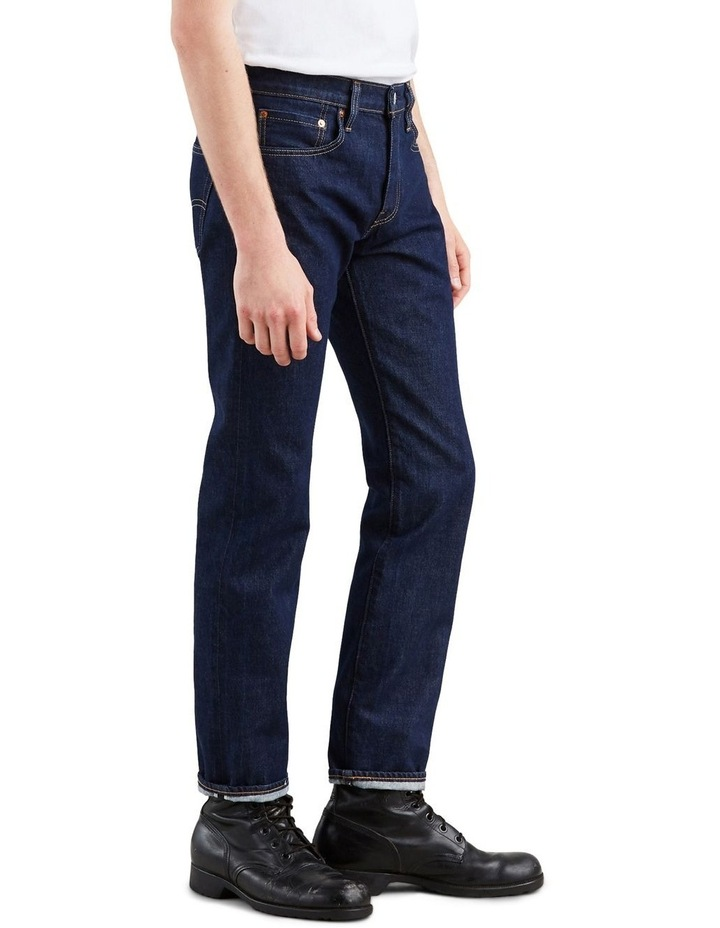 511™ Slim Fit Selvedge Jeans image 3