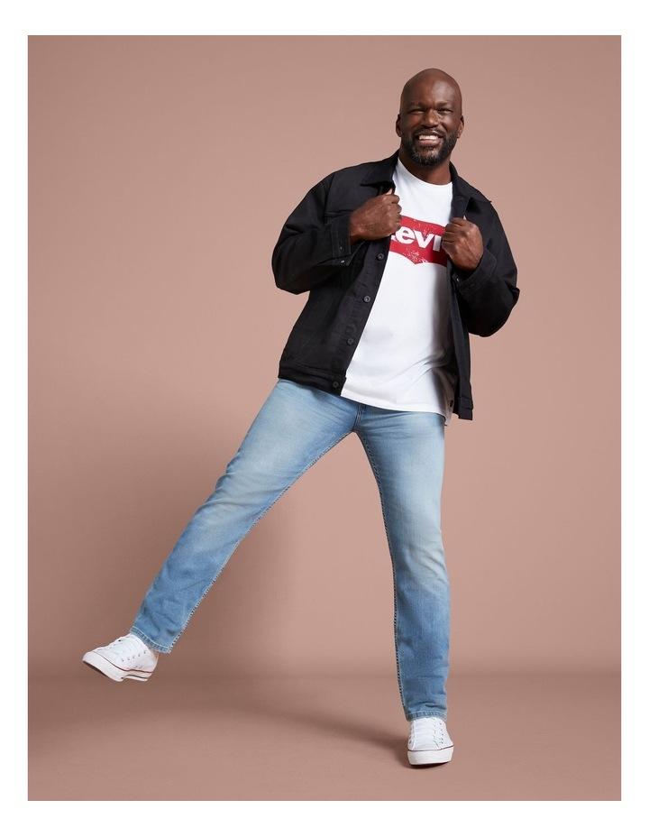 Big & Tall Taper Fit Jeans image 2