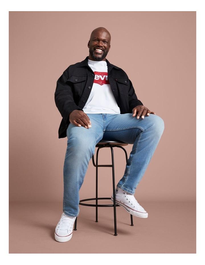 Big & Tall Taper Fit Jeans image 4