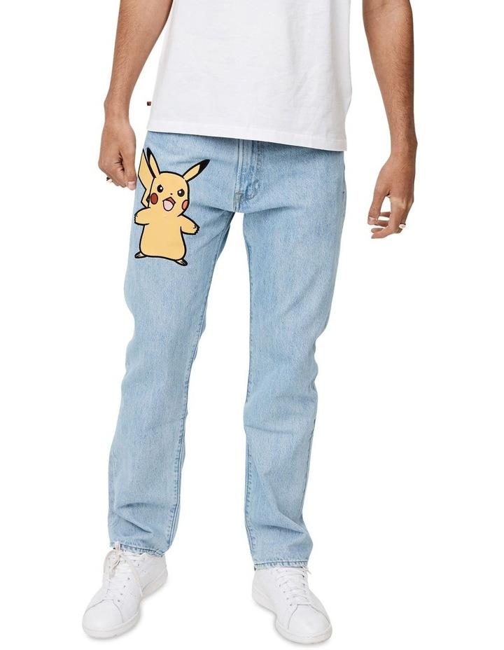 Levi's®  x Pokemon 551Z Men's Authentic Straight Jeans image 1