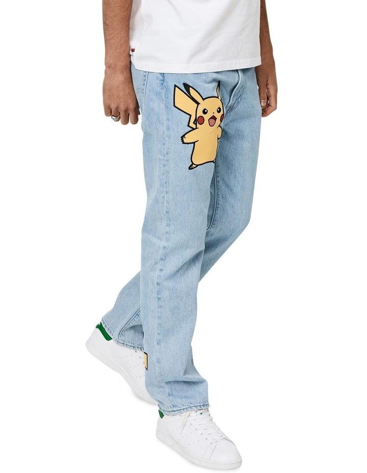Levi's®  x Pokemon 551Z Men's Authentic Straight Jeans image 2