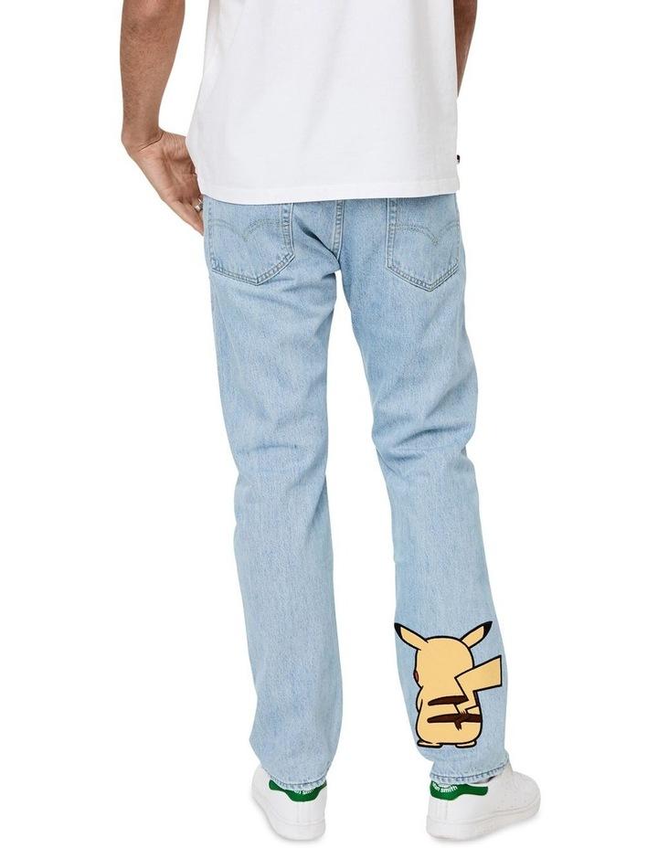 Levi's®  x Pokemon 551Z Men's Authentic Straight Jeans image 3