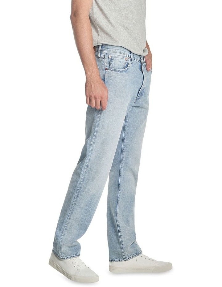 551 Z Authentic Straight Cropped Jeans image 4