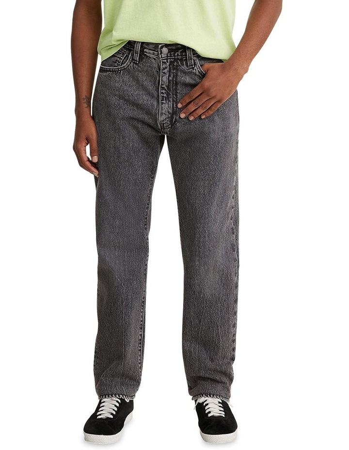 551 Z Authentic Straight Cropped Jeans image 1