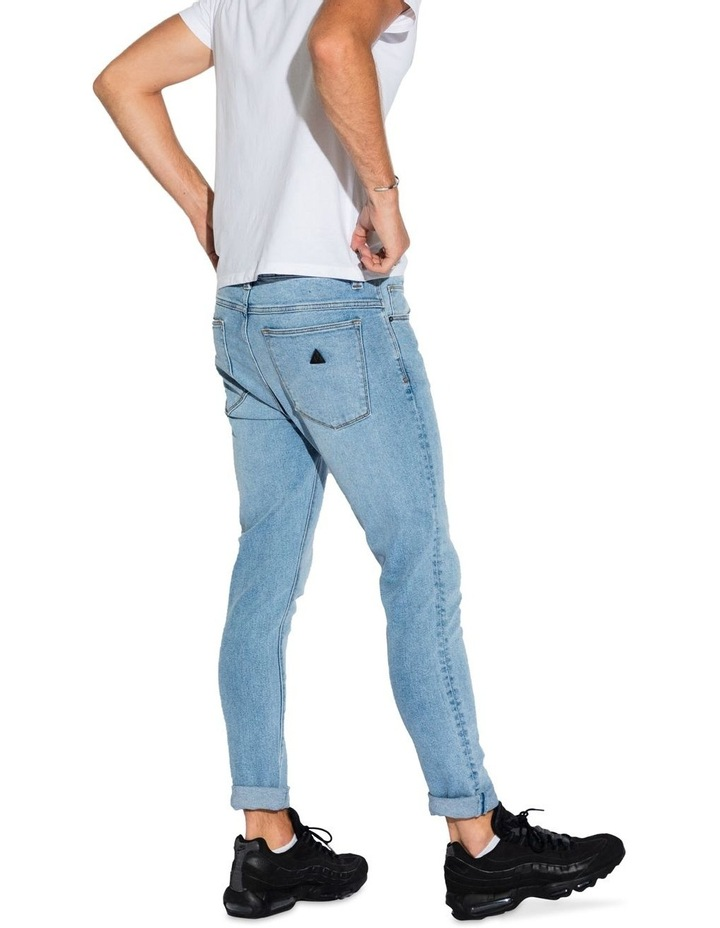 A Dropped Skinny Turn Up Jean image 2