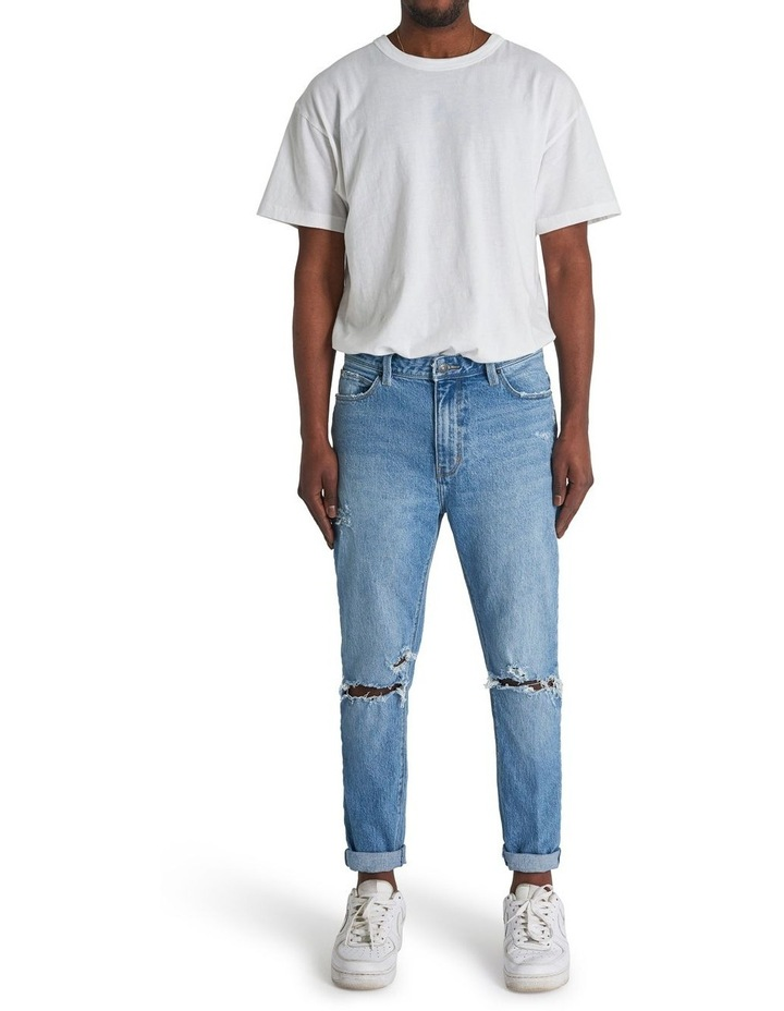 A Dropped Slim Turn Up Jean image 1