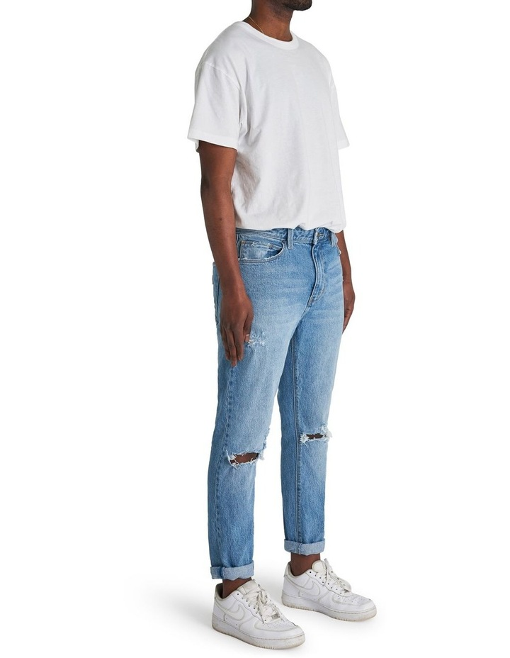 A Dropped Slim Turn Up Jean image 2