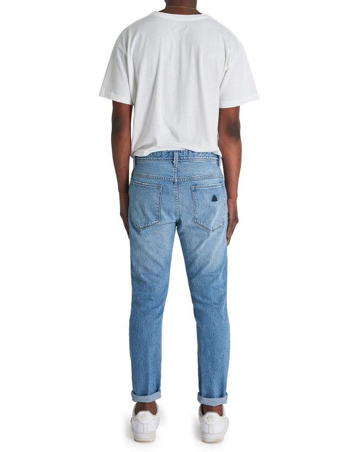 A Dropped Slim Turn Up Jean image 3