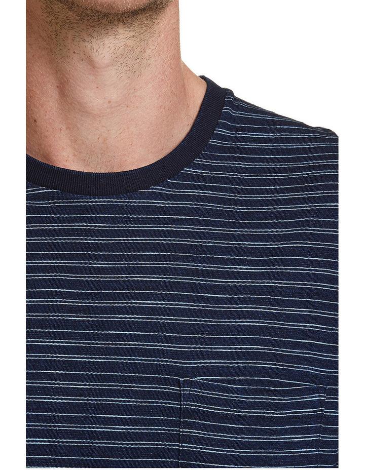 Indigo Stripe Tee image 4