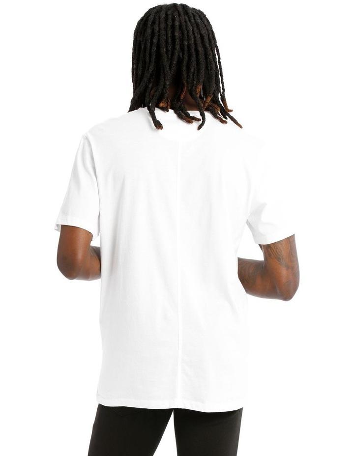 Karl Caricature T-Shirt - White image 3