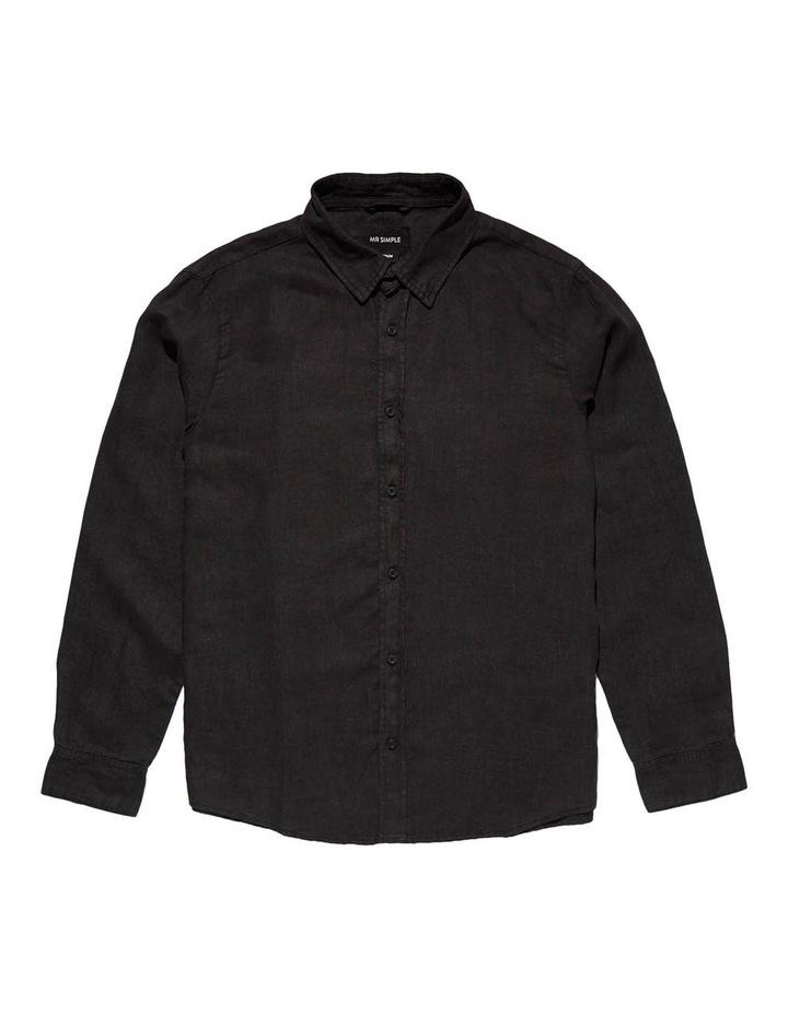 Linen Long Sleeve Shirt image 4