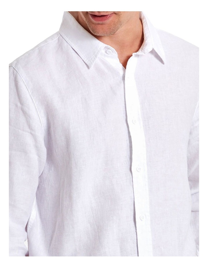 Linen Long Sleeve Shirt image 3