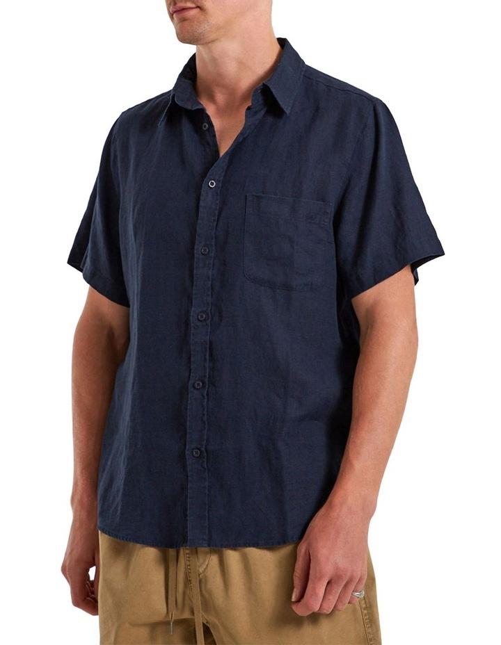 Linen Short Sleeve Shirt image 3