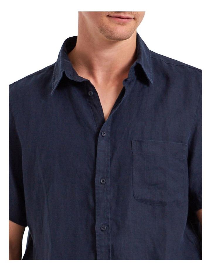Linen Short Sleeve Shirt image 4