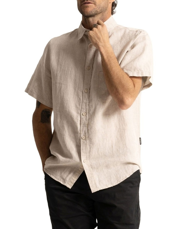 Linen Short Sleeve Shirt image 5