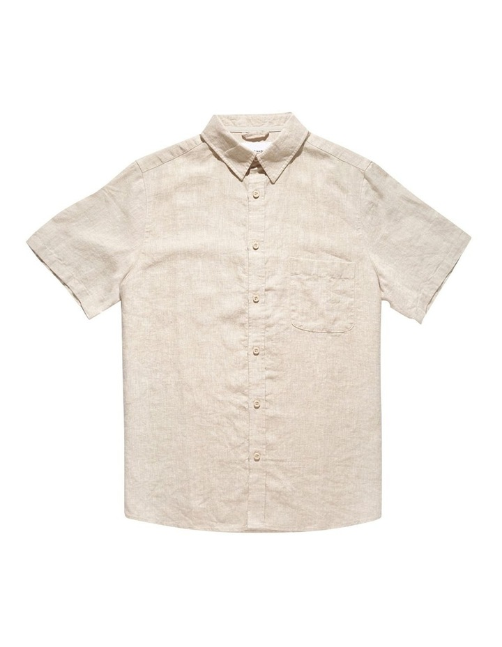 Linen Short Sleeve Shirt image 7