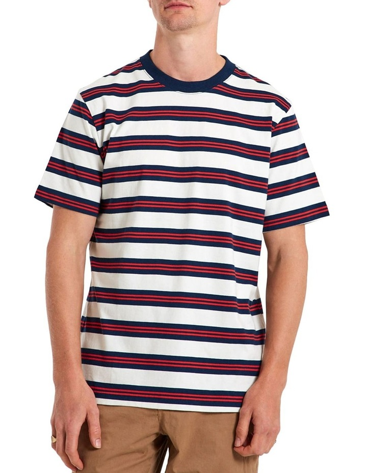 Heavy Weight Ss Stripe Tee image 1