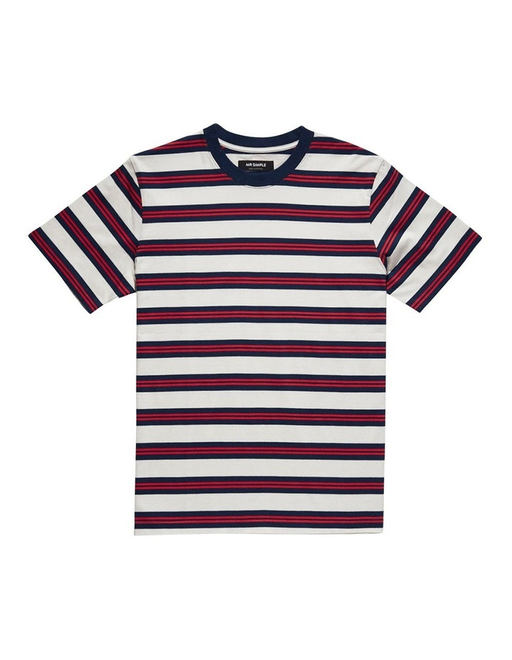 Heavy Weight Ss Stripe Tee image 2