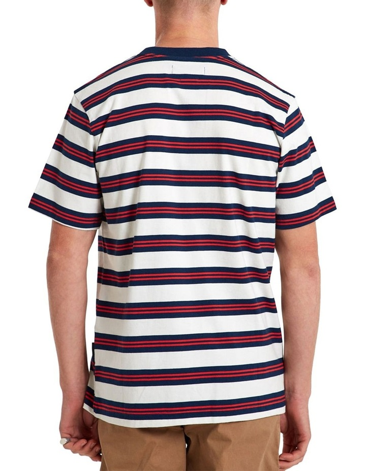 Heavy Weight Ss Stripe Tee image 3