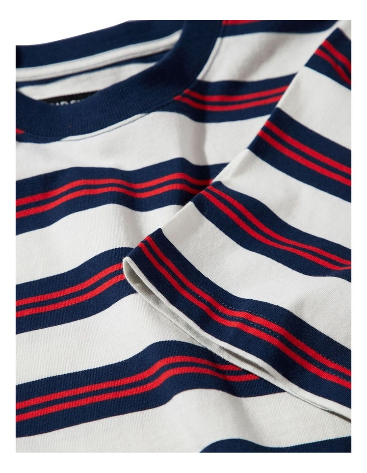 Heavy Weight Ss Stripe Tee image 4