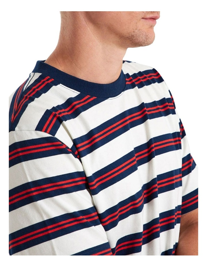 Heavy Weight Ss Stripe Tee image 5