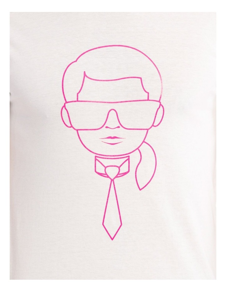 Short Sleeve Graphic Tee With Neon Foil image 4