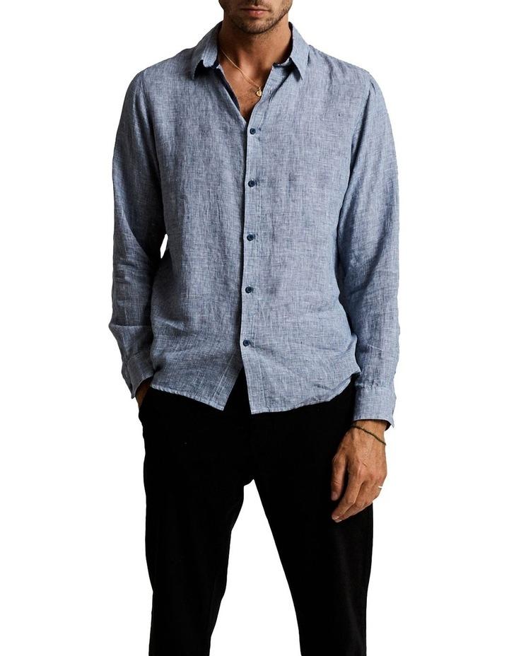 Linen Lng Sleeve Shirt image 1