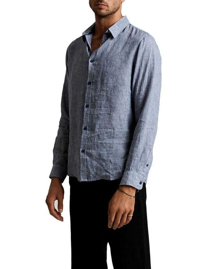 Linen Lng Sleeve Shirt image 2