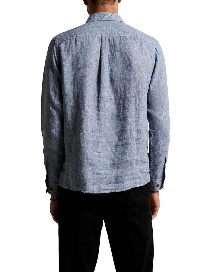 Linen Lng Sleeve Shirt image 3