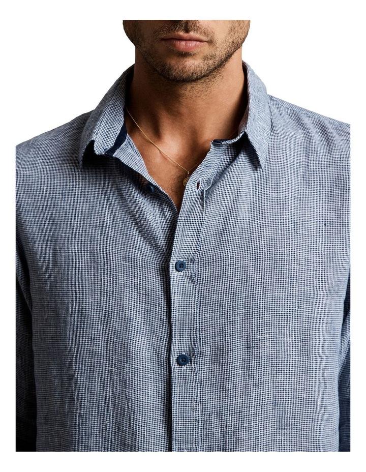 Linen Lng Sleeve Shirt image 4
