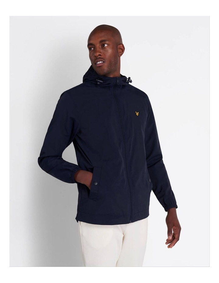 Zip Through Hooded Jacket image 1