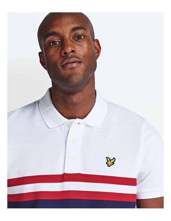 Yoke Stripe Polo Shirt image 2