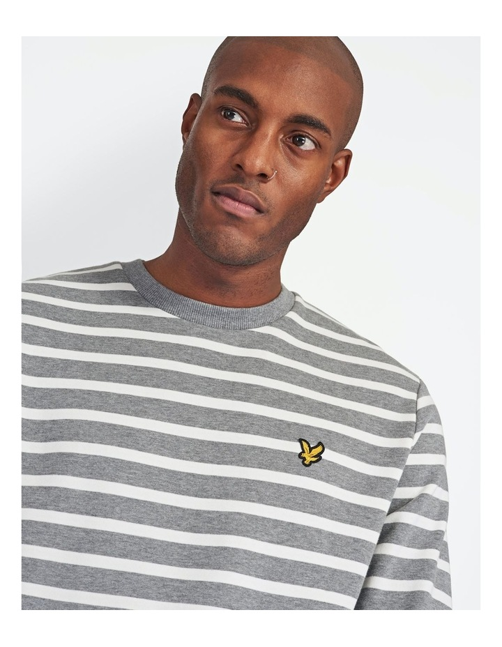 Breton Stripe Sweatshirt image 4
