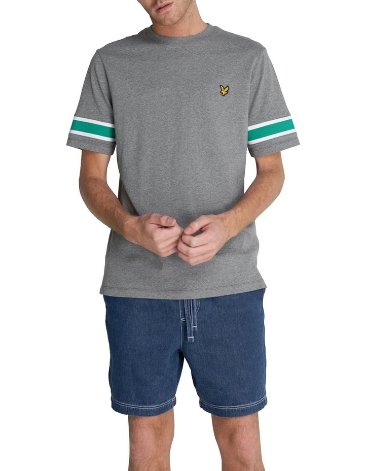 Rib Insert T-Shirt image 1
