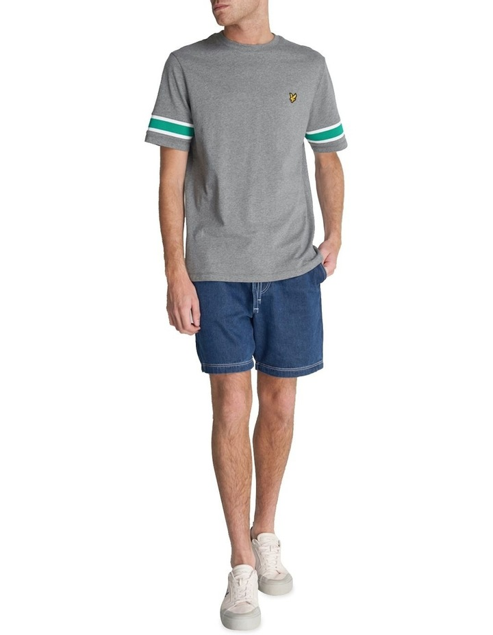 Rib Insert T-Shirt image 2