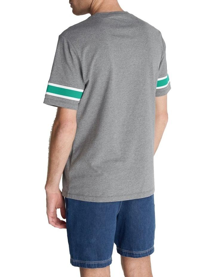 Rib Insert T-Shirt image 3