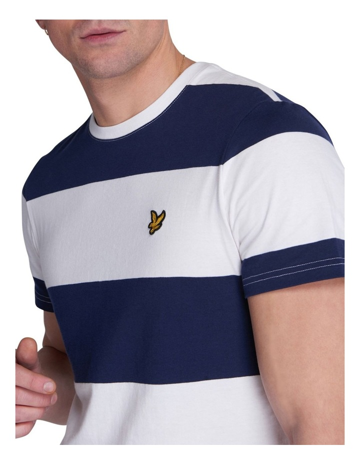 Wide Stripe T-Shirt image 4