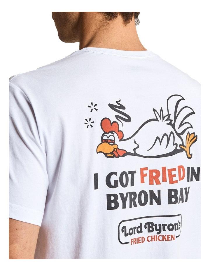 Reginald Tourist Byron Chicken Tee image 4
