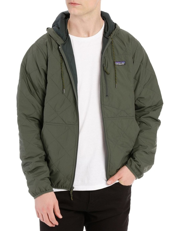 M'S Diamond Quilted Bomber Hoody image 1