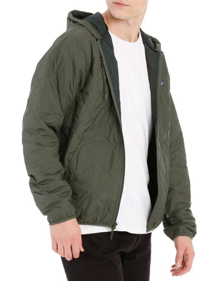 M'S Diamond Quilted Bomber Hoody image 2