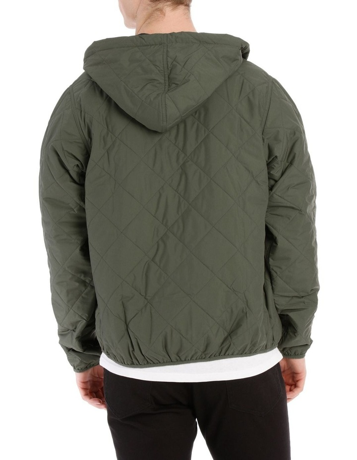 M'S Diamond Quilted Bomber Hoody image 3
