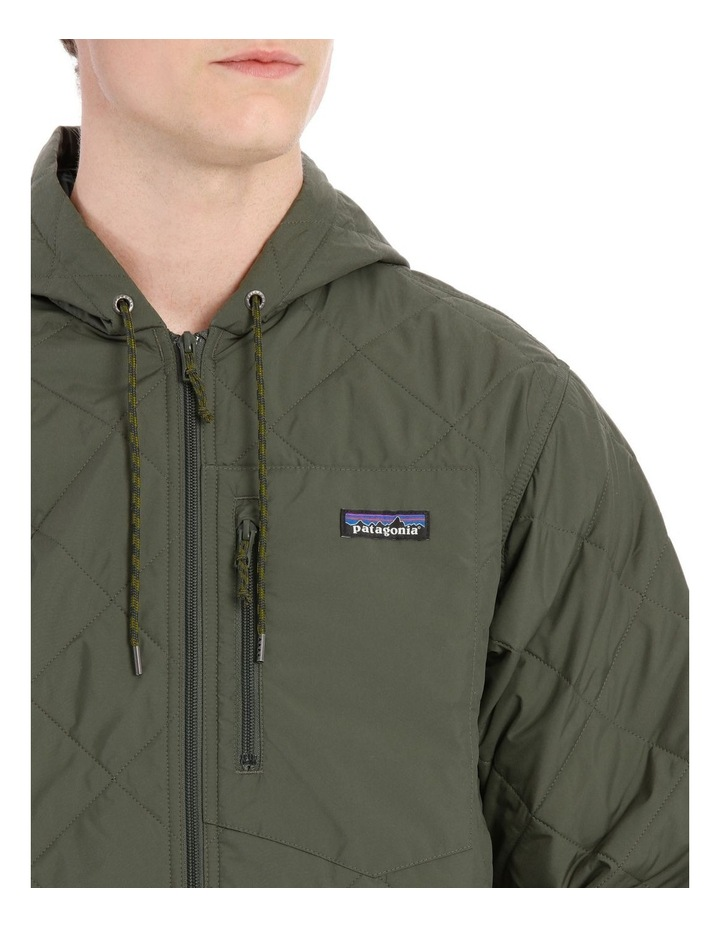 M'S Diamond Quilted Bomber Hoody image 4