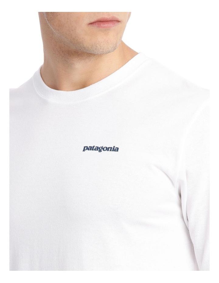 M's Long Sleeved Text Logo Responsibili Tee image 4