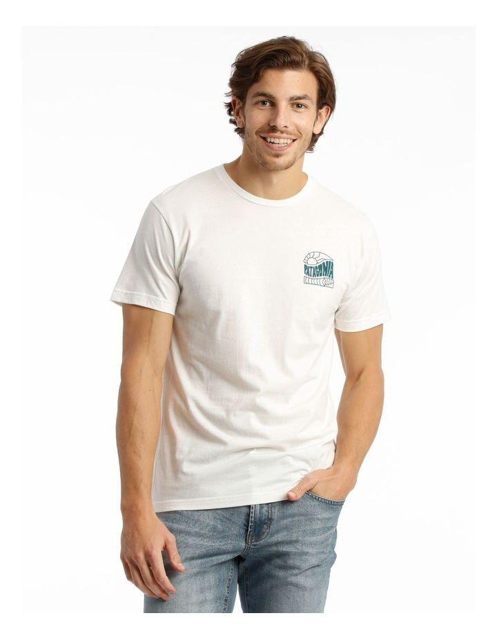 M'S Cosmic Peaks Organic T-Shirt image 1