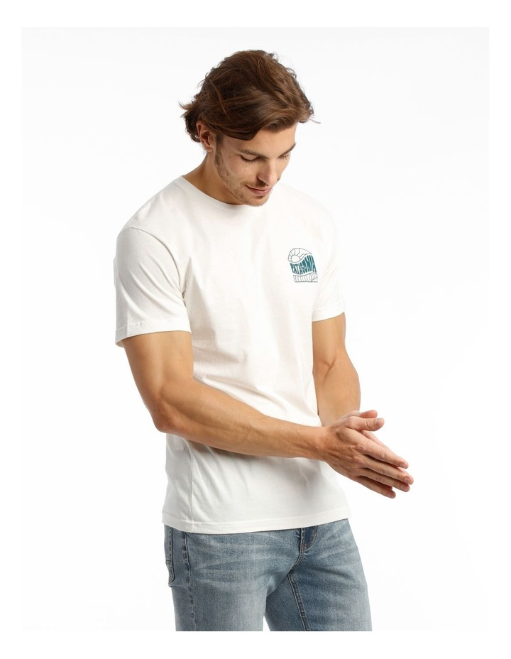 M'S Cosmic Peaks Organic T-Shirt image 2