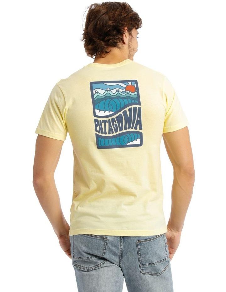 M'S Cosmic Peaks Organic T-Shirt image 3