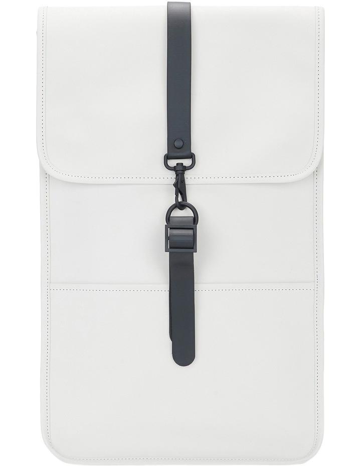 White Backpack image 1